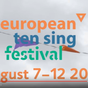 Europeisk Ten Sing-festival på SPEKTER i august 2018